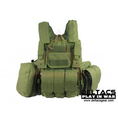 Deltacs CIRAS Type Tactical Vest - OD Green